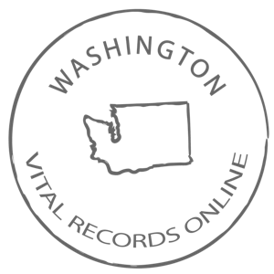 Washington Marriage Certificate, Vital Records