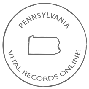 Pennsylvania Marriage Certificate, Vital Records
