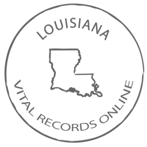 Louisiana Marriage Certificate, Vital Records