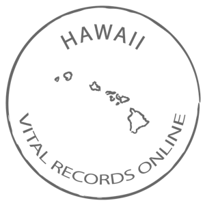 Hawaii Marriage Certificate, Vital Records