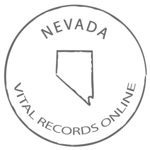 Nevada Death Certificate, Vital Records
